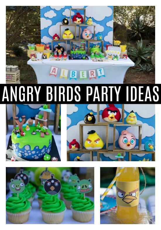 Angry Birds Birthday Party - Pretty My Party