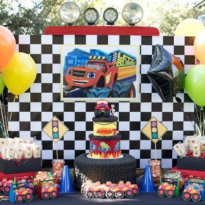 Cool Blaze and the Monster Machines Party