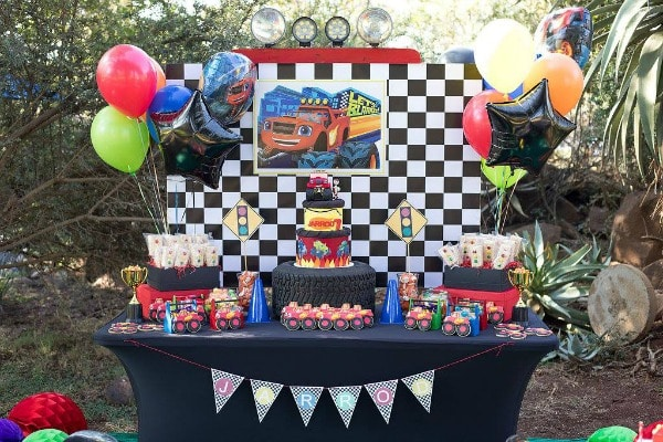 Blaze and the Monster Machines Birthday Party Decorations