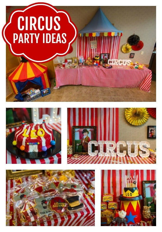 Circus Theme Party - Pretty My Party