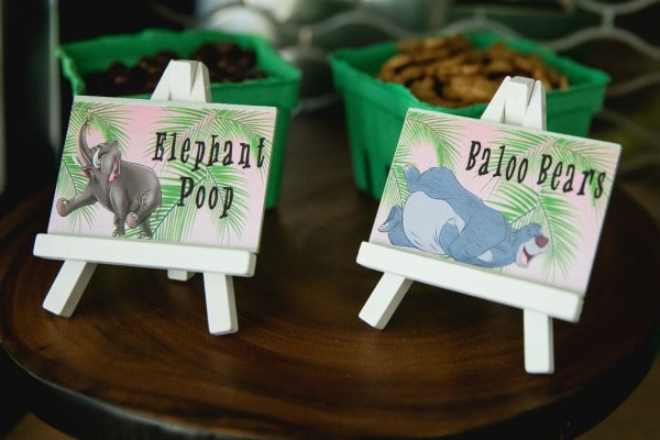 Jungle Book Party Food Labels