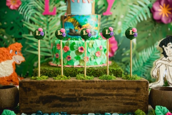 Jungle Book Cake Pops