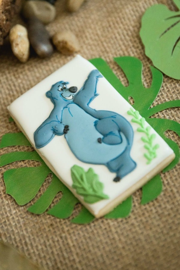 Jungle Book Party Cookies