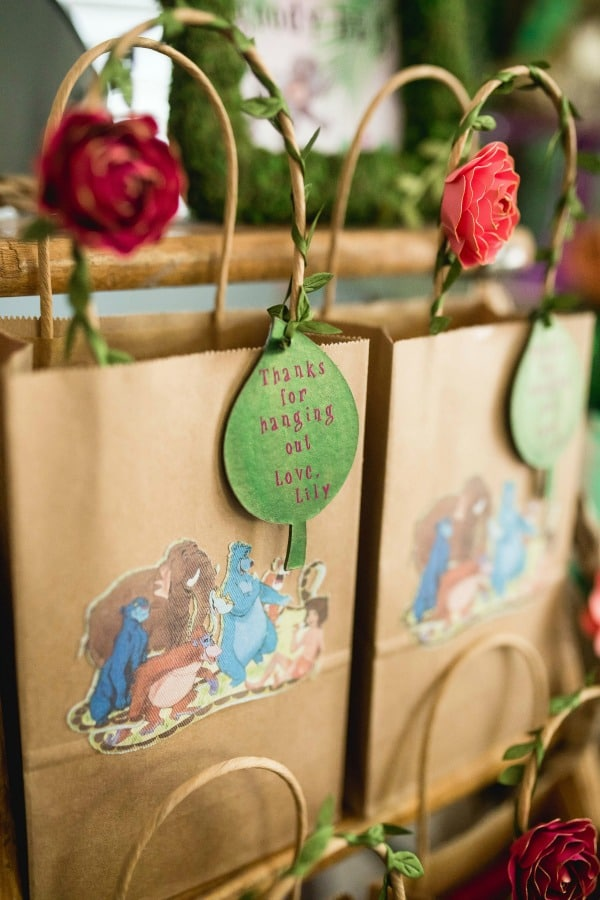 Jungle Book Birthday Party Favor Bags
