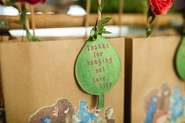Jungle Book Birthday Party Favor Tags
