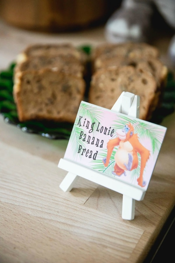 Jungle Book Party Food Ideas
