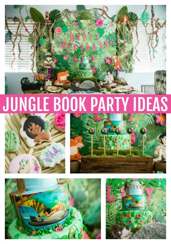 Amazing Jungle Book Themed Birthday Party - Pretty My Party