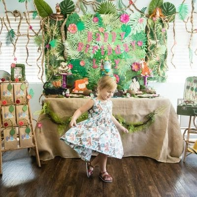 Amazing Jungle Book Themed Birthday Party
