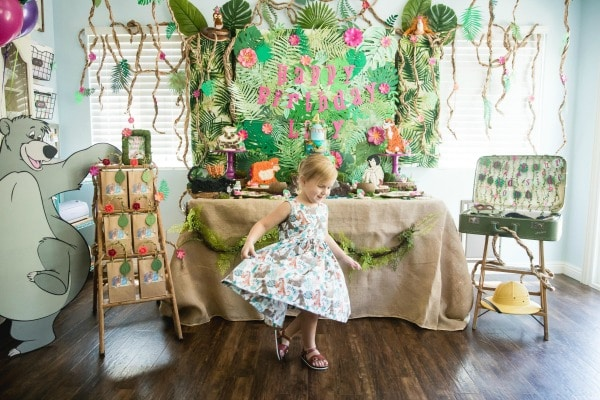 Jungle Book Birthday Party