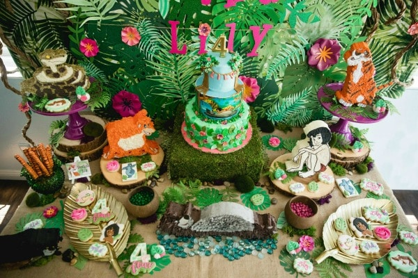 Jungle Book Sweets Table