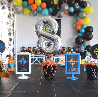 Fantastic Laser Tag Themed Birthday Party