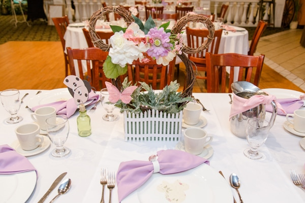 Minnie Mouse Baby Shower Centerpieces