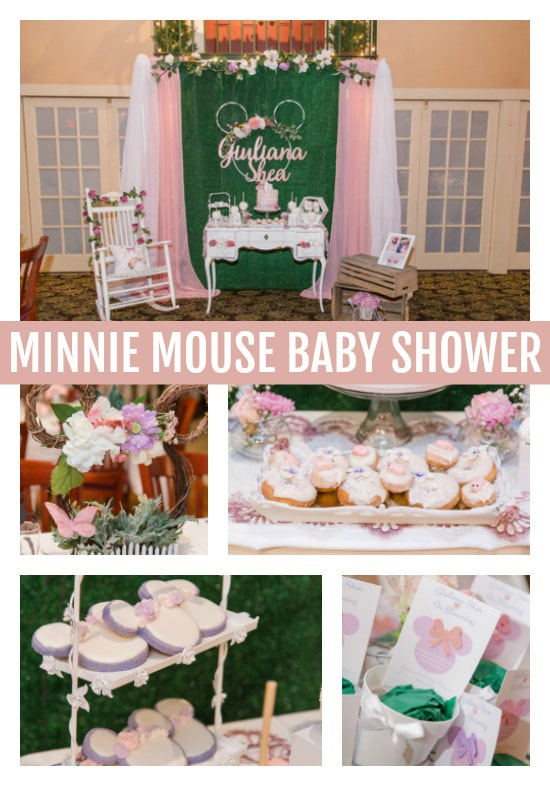 Gorgeous Gorgeous Minnie Mouse Baby Shower Pretty My Party Party