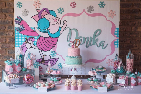 Piglet In Onederland 1st Birthday Party Ideas - Winnie the Pooh Theme