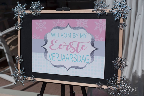 Piglet In Onederland 1st Birthday Party Welcome Sign