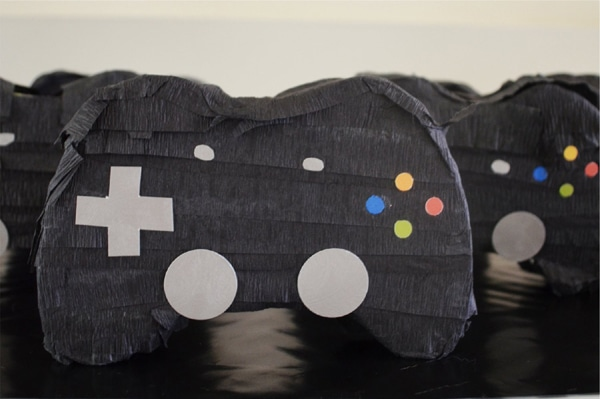 Gamer Birthday Party Favors - Video Controller Mini Pinatas