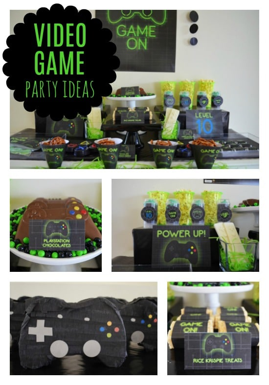 Super Cool Gamer Birthday Party - Pretty My Party