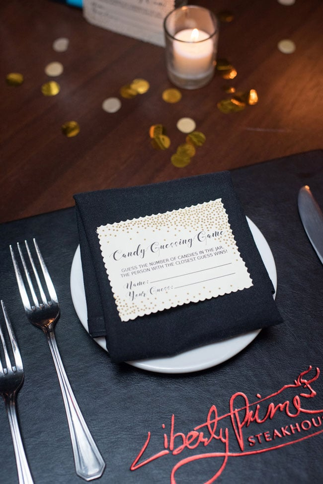 Candy Guessing Game Baby Shower Game Idea