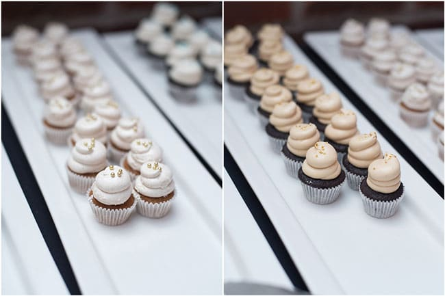 A Baby Is Brewing Baby Shower Cupcakes