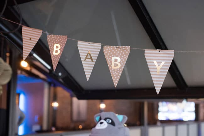 A Baby Is Brewing Baby Shower Banner