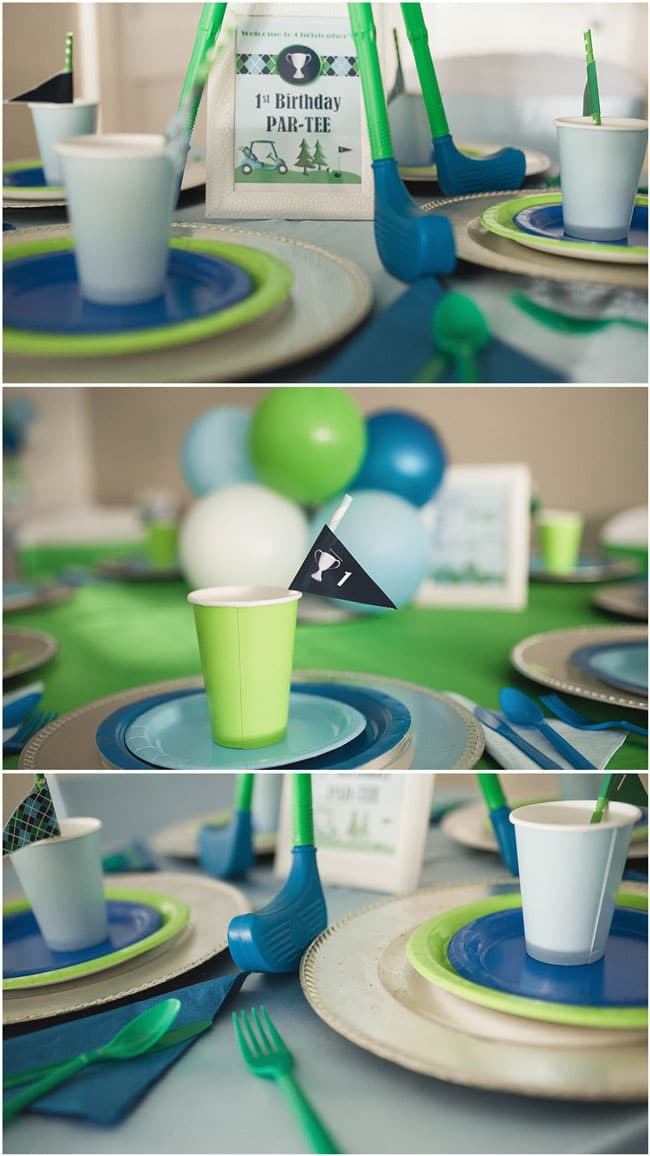 Golf Themed 1st Birthday Party Decorations and Party Supplies