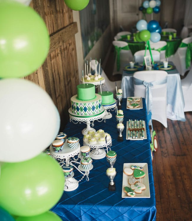 Superb Golf Themed 1St Birthday Party Pretty My Party Party Ideas Home Interior And Landscaping Pimpapssignezvosmurscom