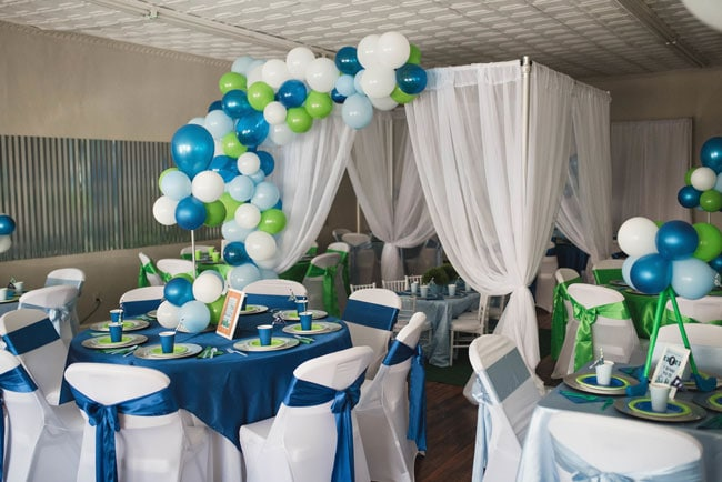 Golf Themed 1st Birthday Party Ideas
