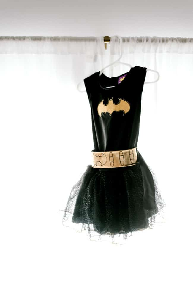 Modern Girls Superhero Party - Bat Girl Birthday Outfit