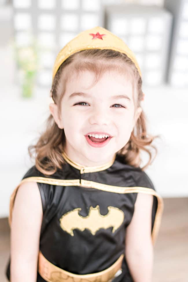 Modern Girls Superhero Party Outfit