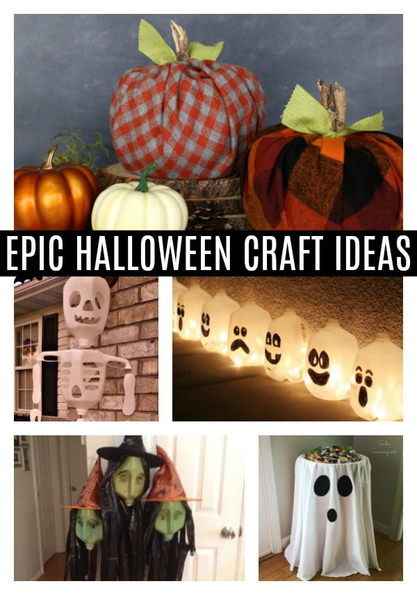 Easy Halloween Craft Ideas on Pretty My Party