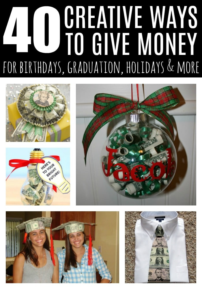 40 Creative Ways to Give Money on Pretty My Party