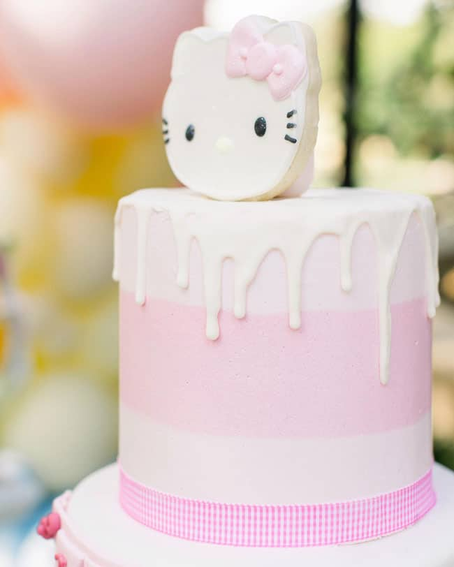 Hello Kitty Birthday Cake on Pretty My Party