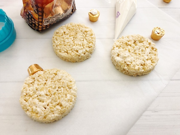 Rice Krispie Ornament Treats