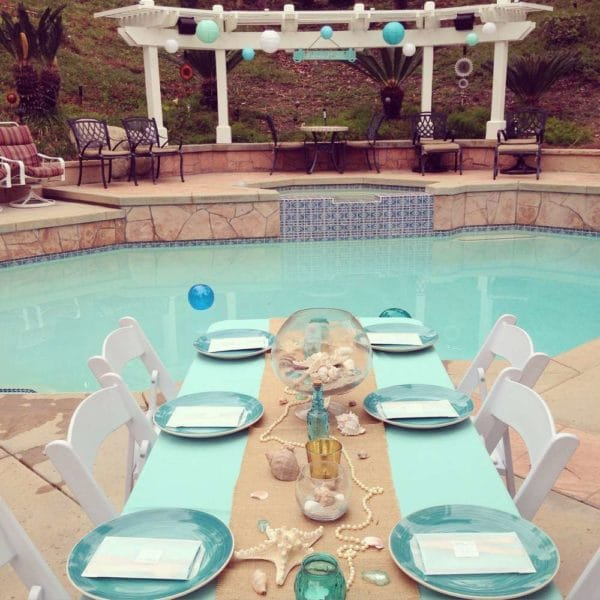 Pool Party - Sweet 16 Party Ideas