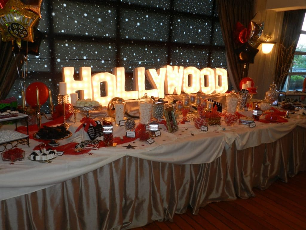 Hollywood Theme - Sweet 16 Party Ideas
