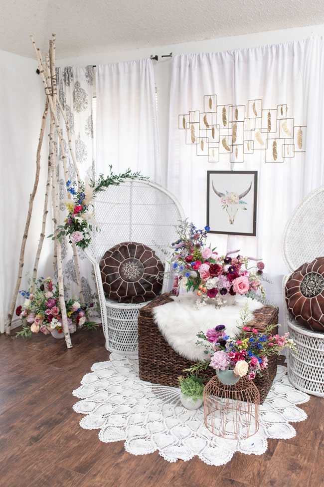 Boho Chic Sweet 16 Party Theme