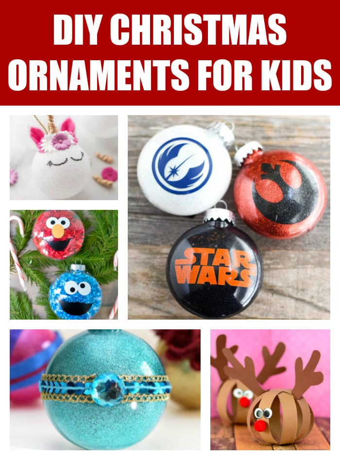 DIY Christmas Ornaments For Kids on Pretty My Party
