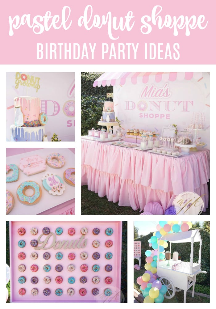 Donut Party on Pretty My Party