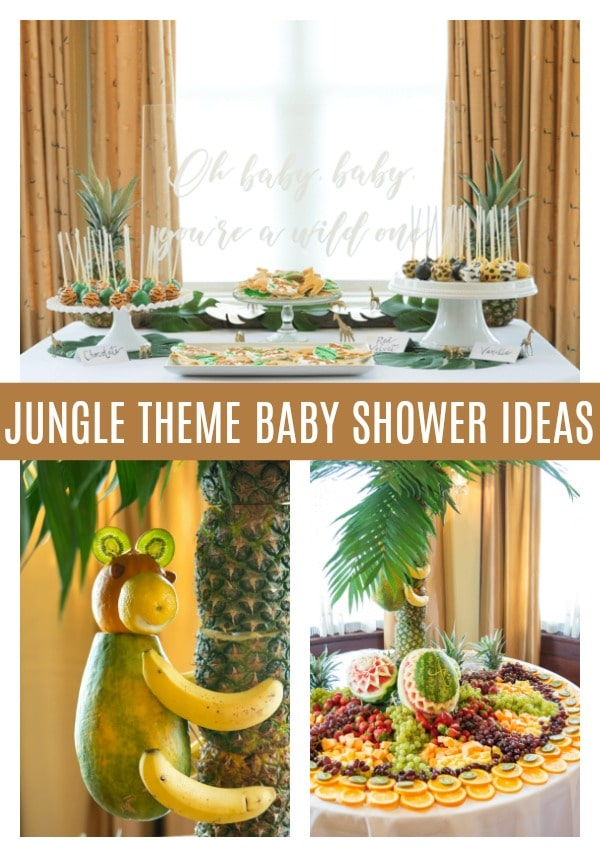 Jungle Theme Baby Boy Baby Shower Theme on Pretty My Party