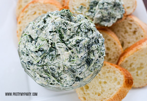 Spinach Dip on Pretty My Party