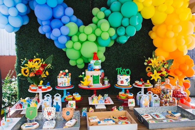1st Birthday Boy Themes - Sesame Street