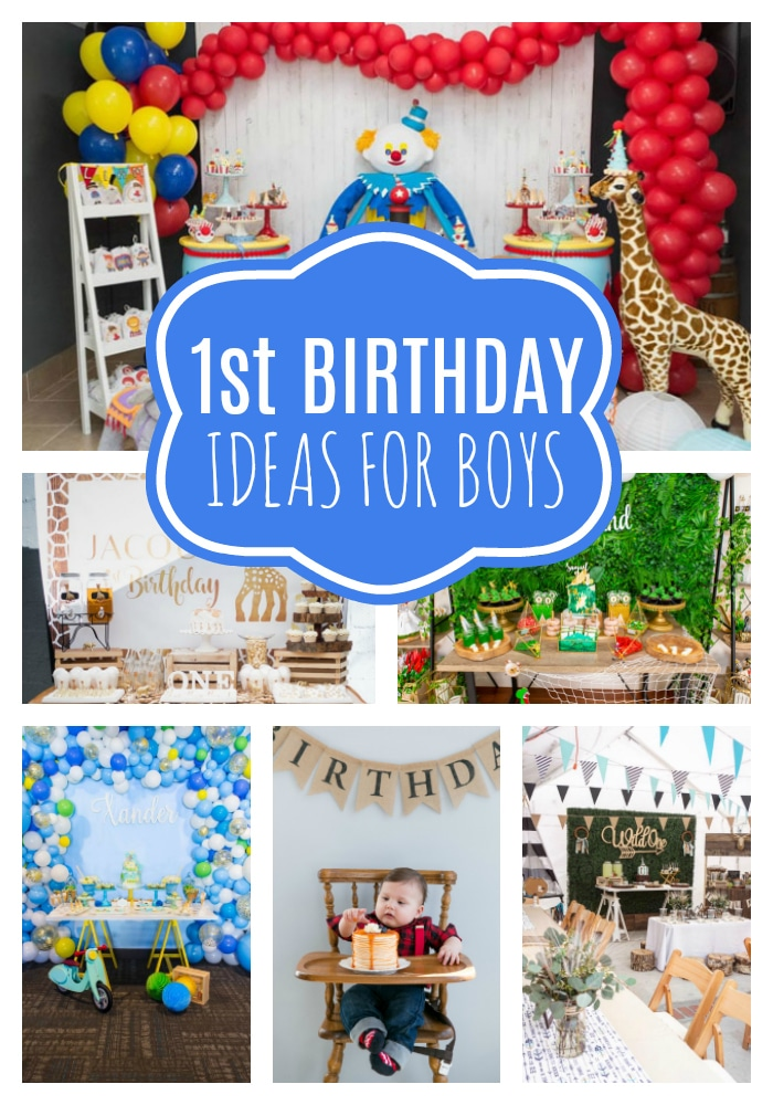 18 First Birthday Party Ideas For Boys on Pretty My Party