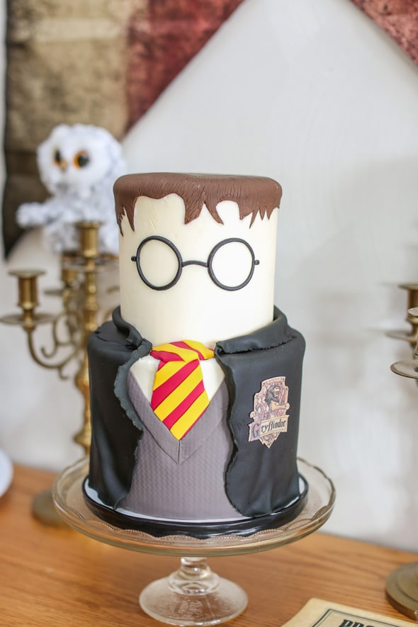 Harry Potter Birthday Cake - Awesome Cakes For Boys on Pretty My Party
