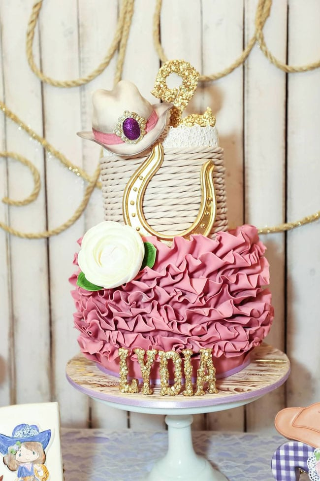 Cowgirl Birthday Cake - Awesome Birthday Cakes For Girls on Pretty My Party