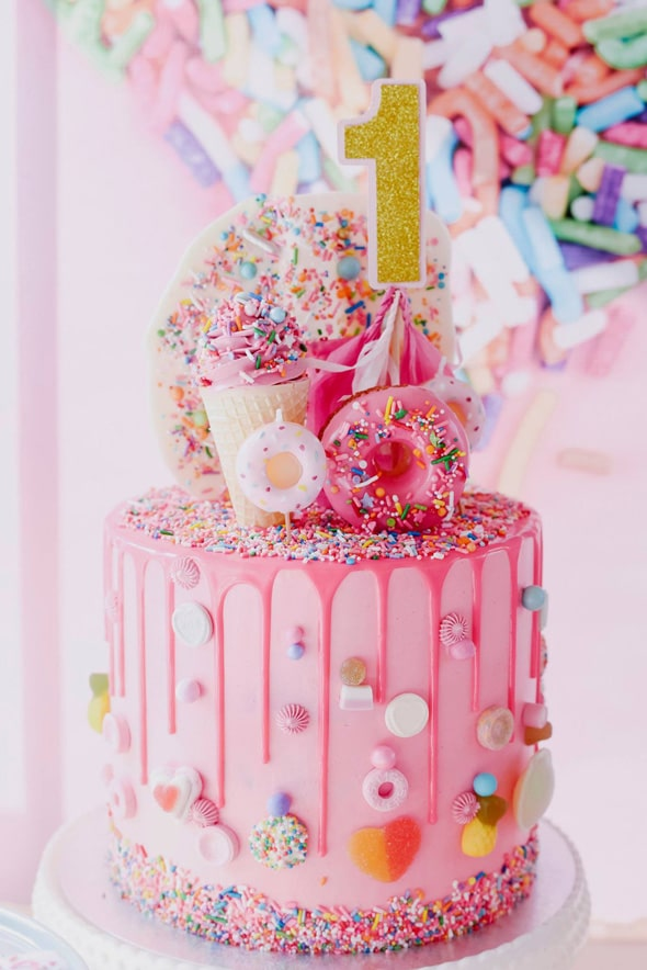 Sprinkles Birthday Cake - Awesome Birthday Cakes For Girls on Pretty My Party