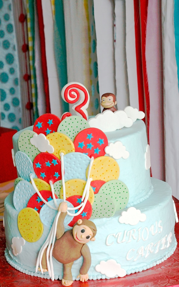 Curious George Birthday Cake - Awesome Birthday Cakes For Boys on Pretty My Party