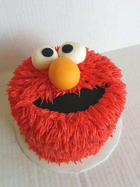 Elmo Birthday Cake - Elmo Party Ideas