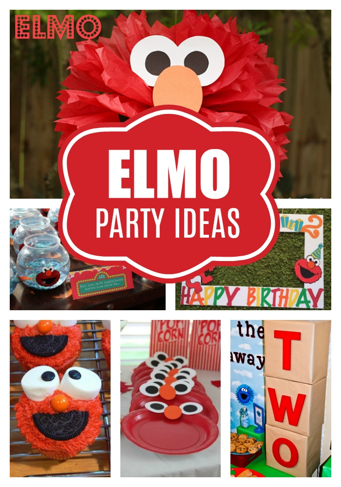 Elmo Birthday Party Ideas - Pretty My Party