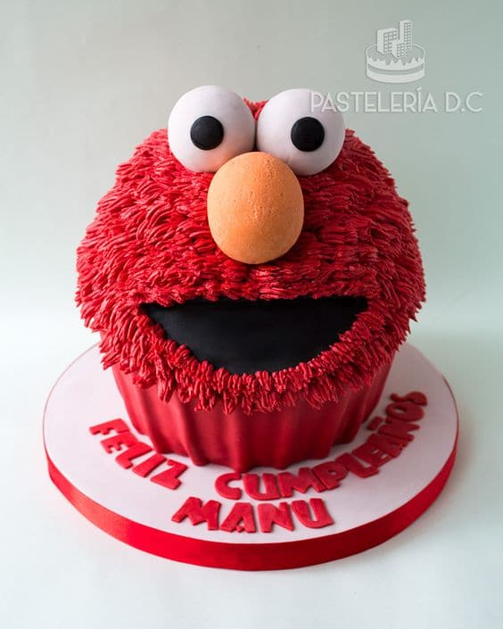 Elmo Cake - Elmo Birthday Party Ideas