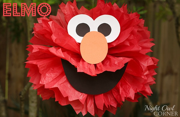 Elmo Party Decorations - Elmo Party Ideas